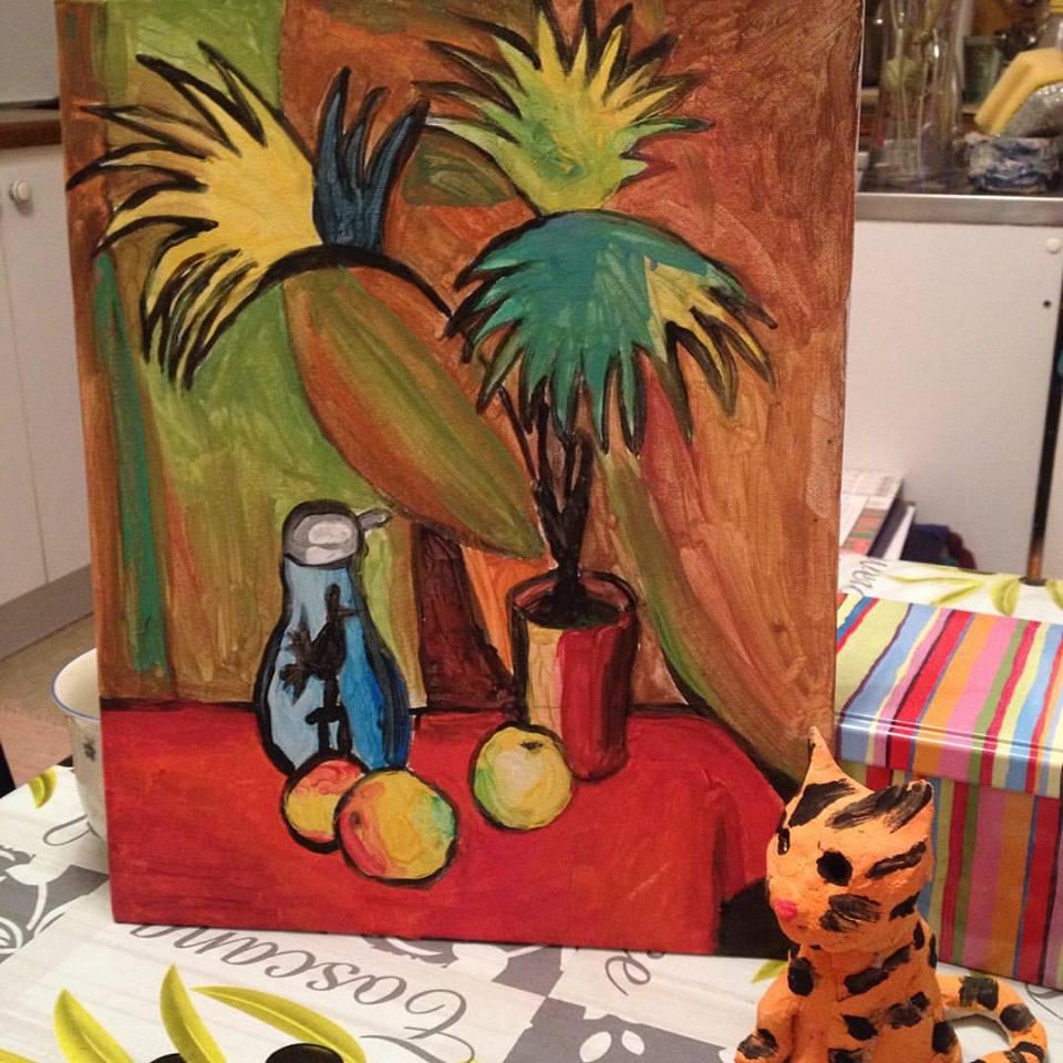 У моей мамы все дети рисуют хорошо!